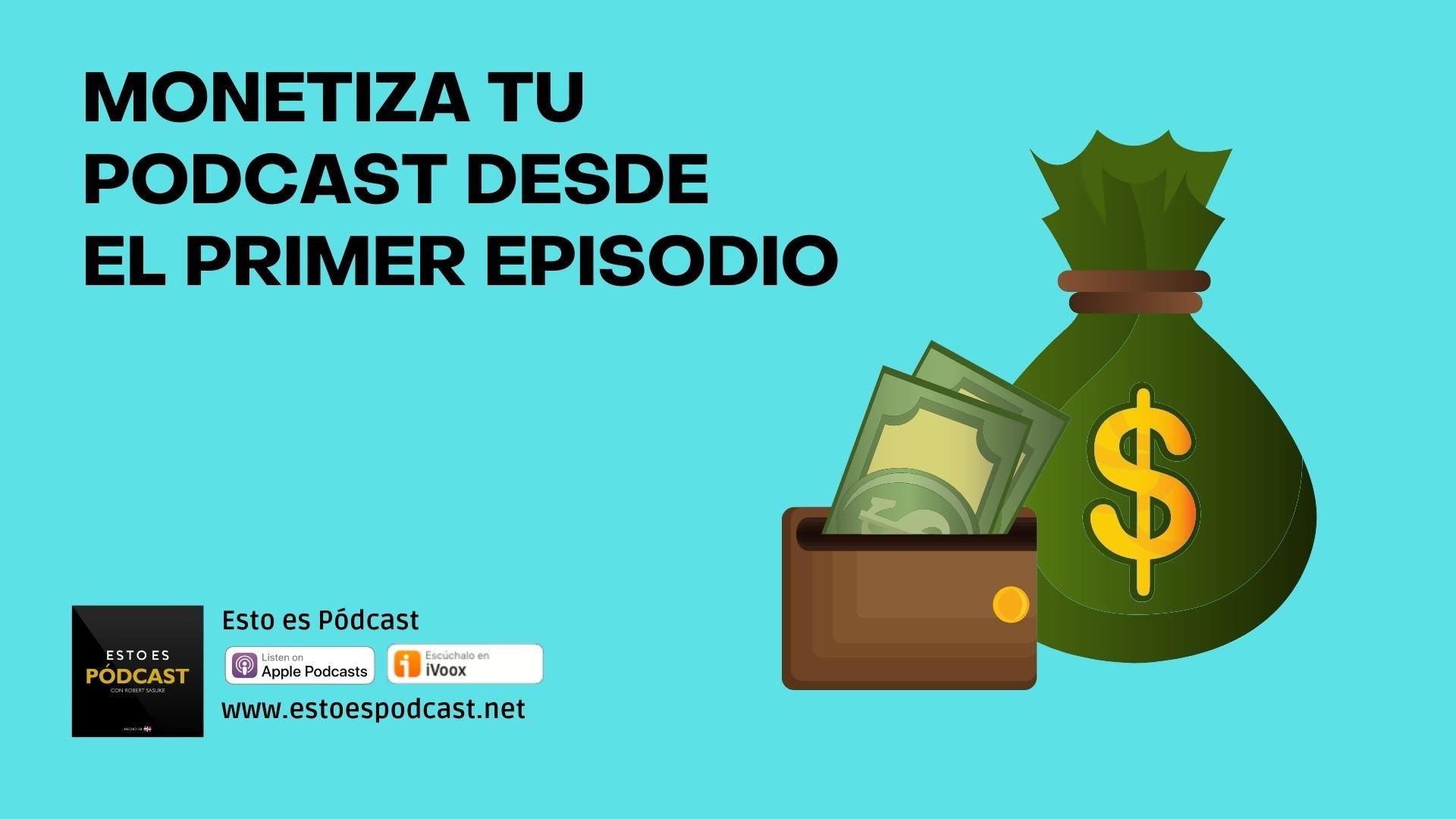 ¿Se puede hacer dinero comenzando un podcast? Si, pero...