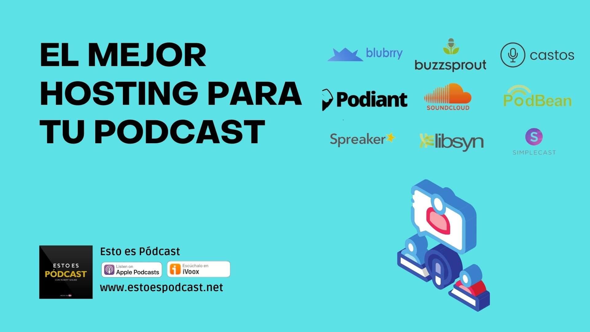 ¿Cómo elijo un hosting bueno para mi podcast?