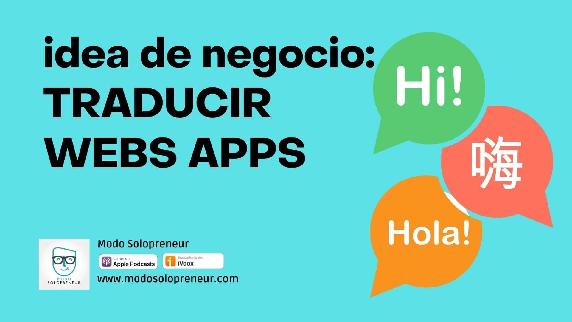 Agencia de traducción para web apps