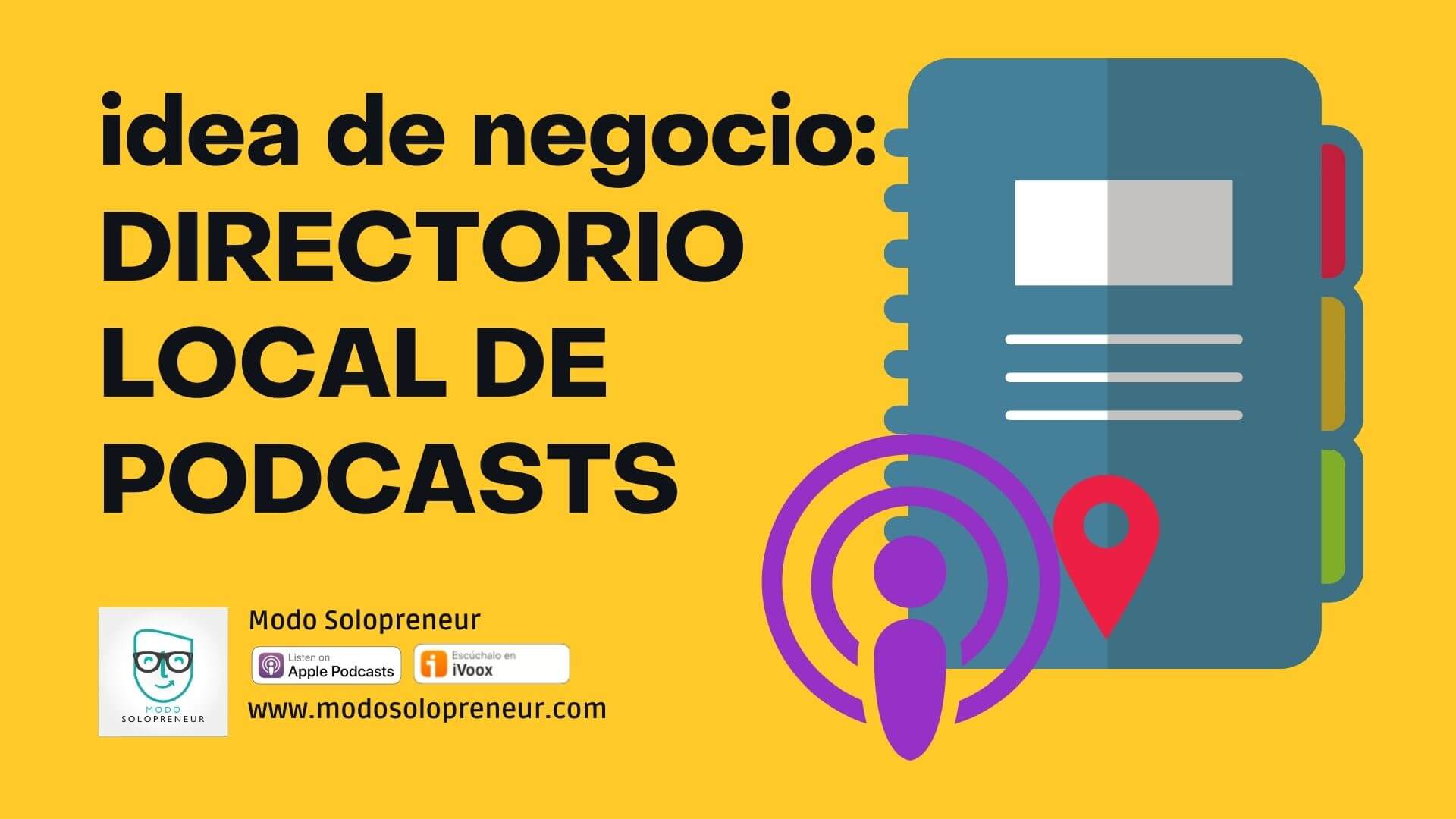 Directorio local de podcasts