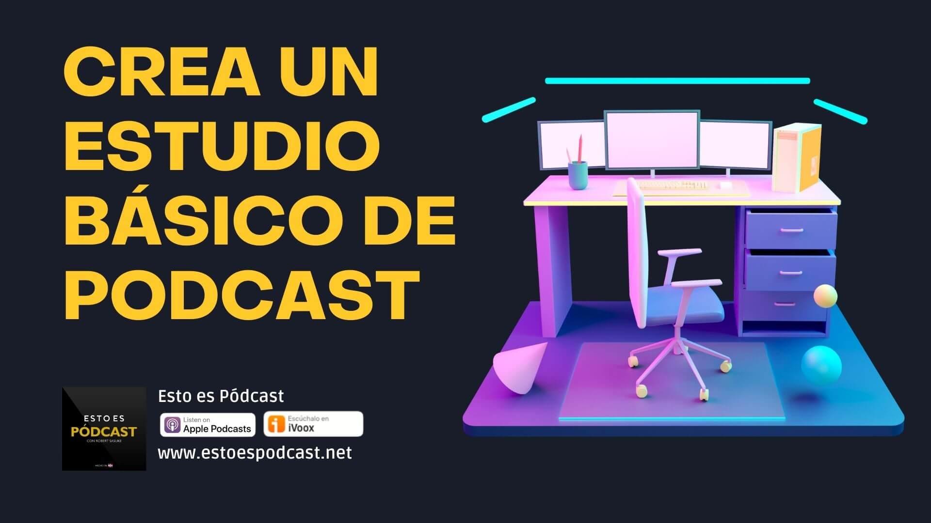 Equipos para Crear un estudio móvil de podcast con buena calidad/precio