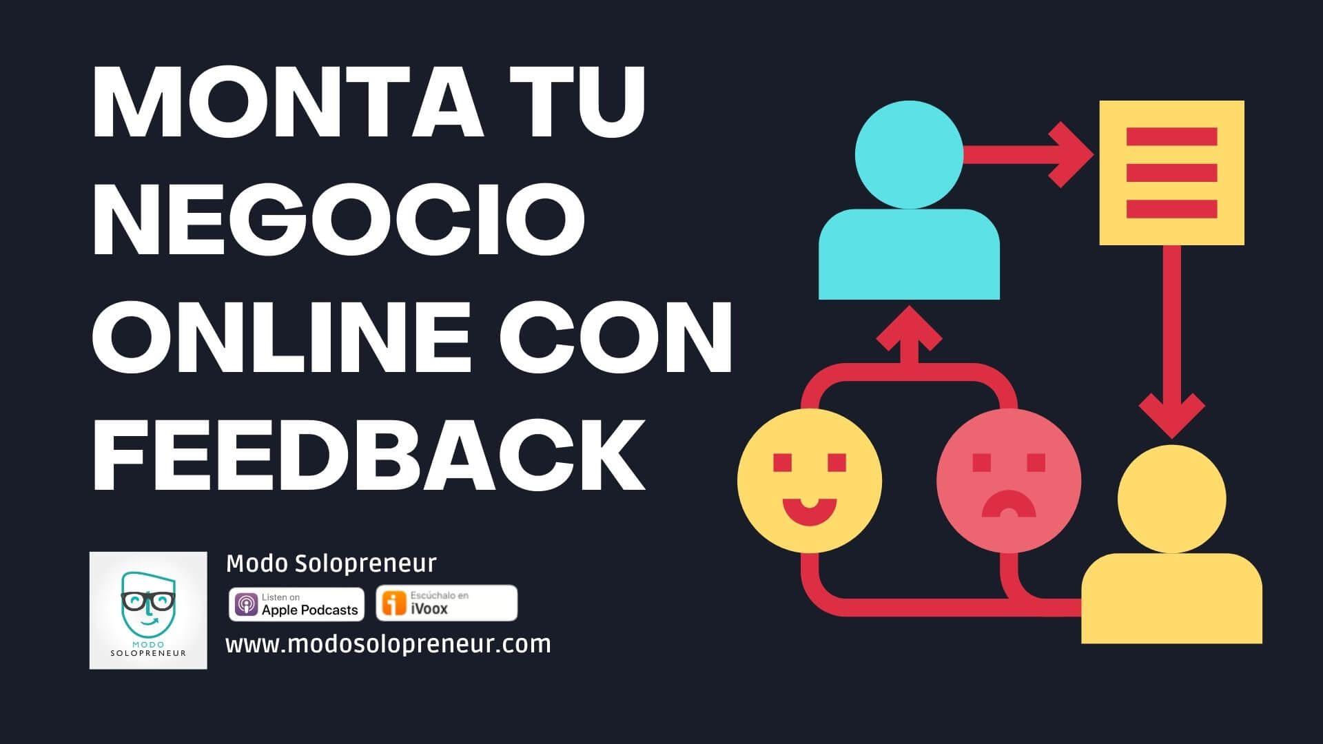 109. Al crear un Negocio Online Pide Feedback en todo momento