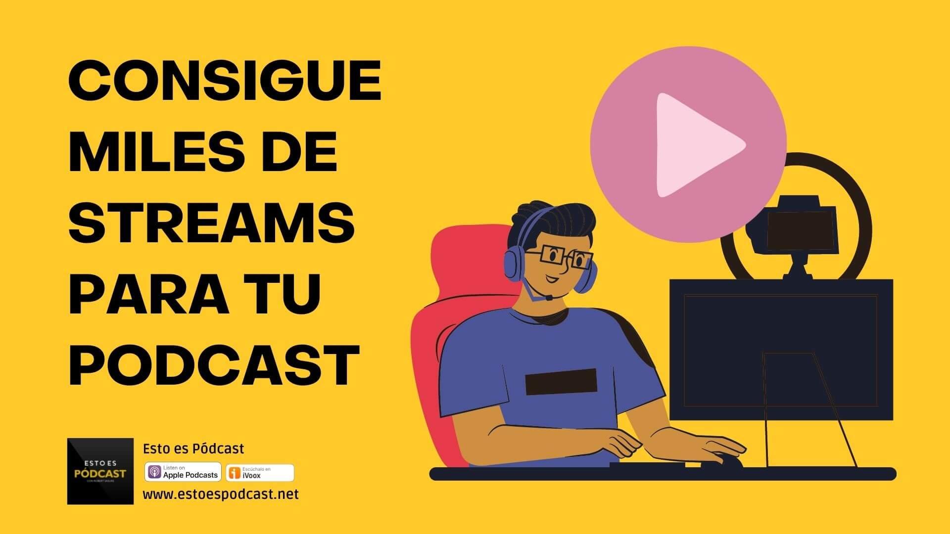 152. Experimento: Conseguir Miles de Streams de 1 Episodio de Podcast