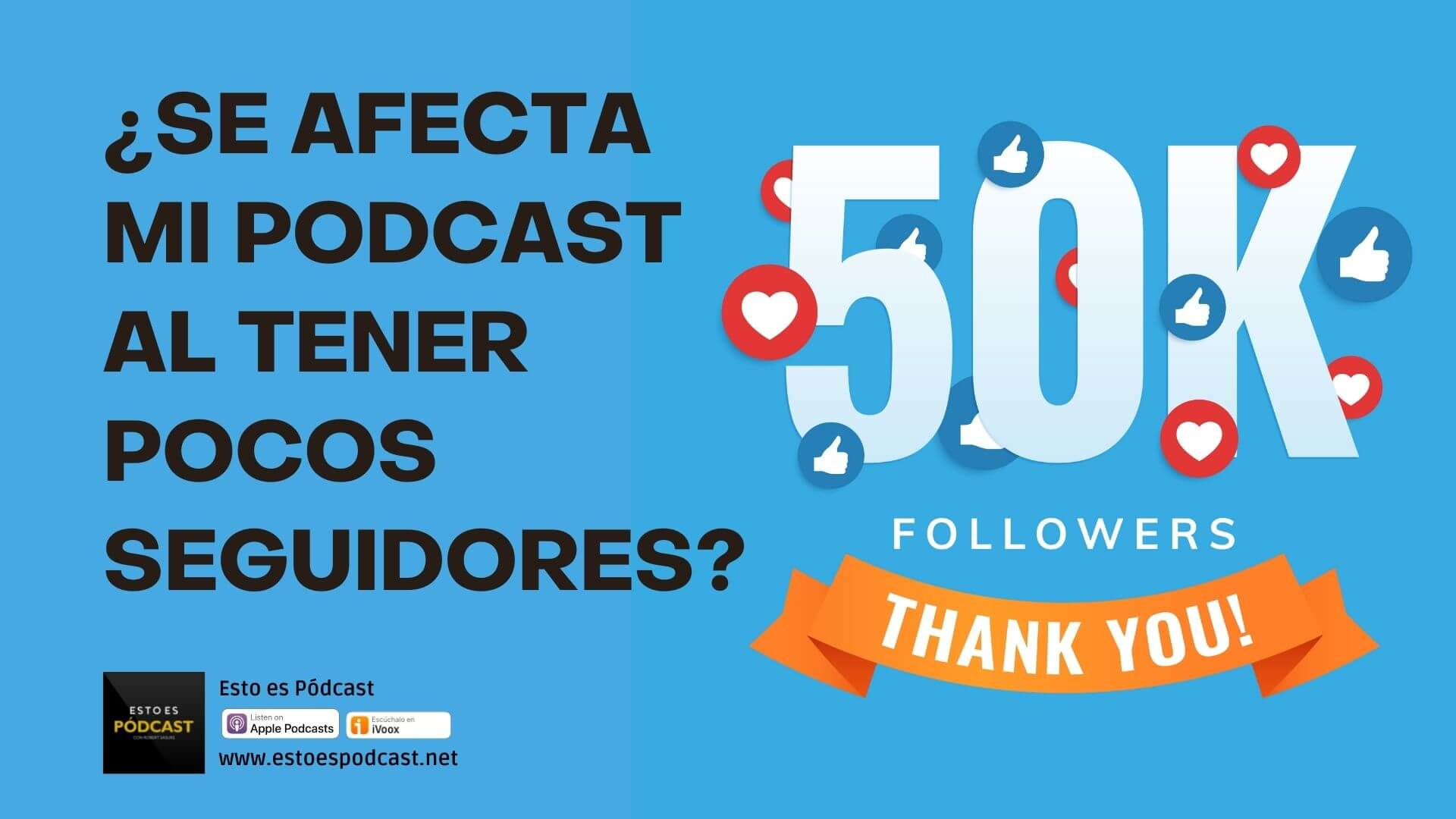 153. ¿Se puede afectar mi podcast si tengo pocos seguidores en Redes Sociales?