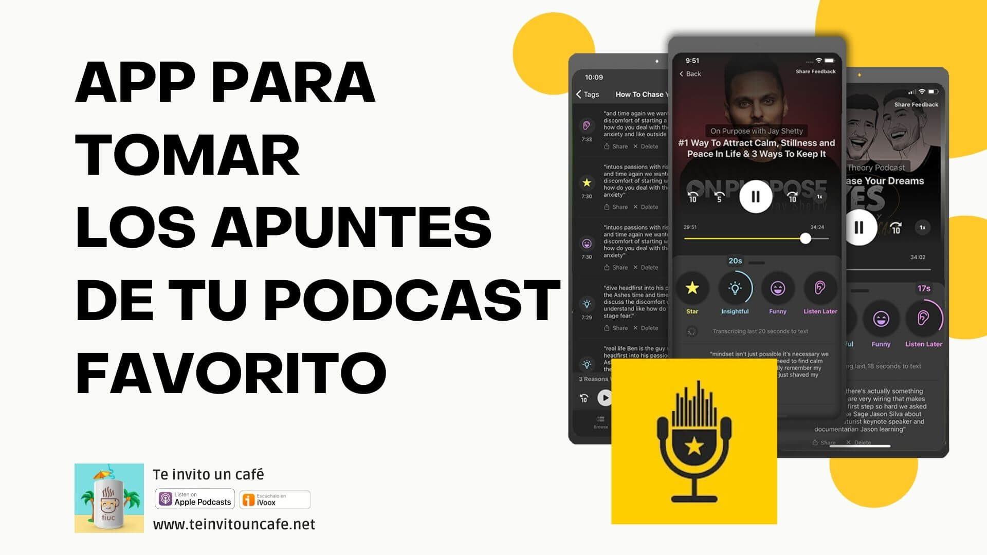 1306. App para Escuchar y Tomar apuntes de podcasts