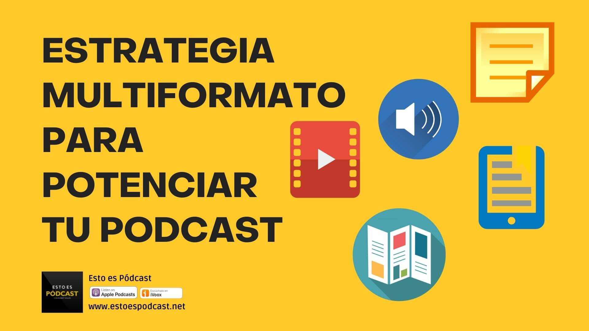 157. La Estrategia de Multiformatos para Potenciar tu Podcast
