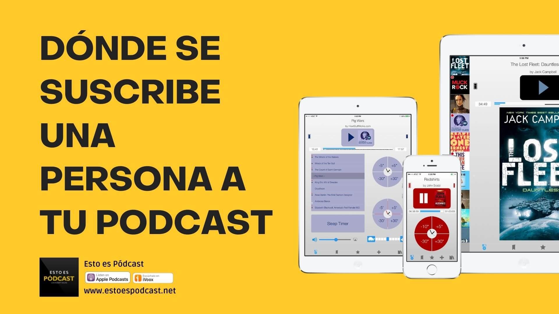 162. ¿Adonde le digo al oyente que se suscriba a mi podcast?